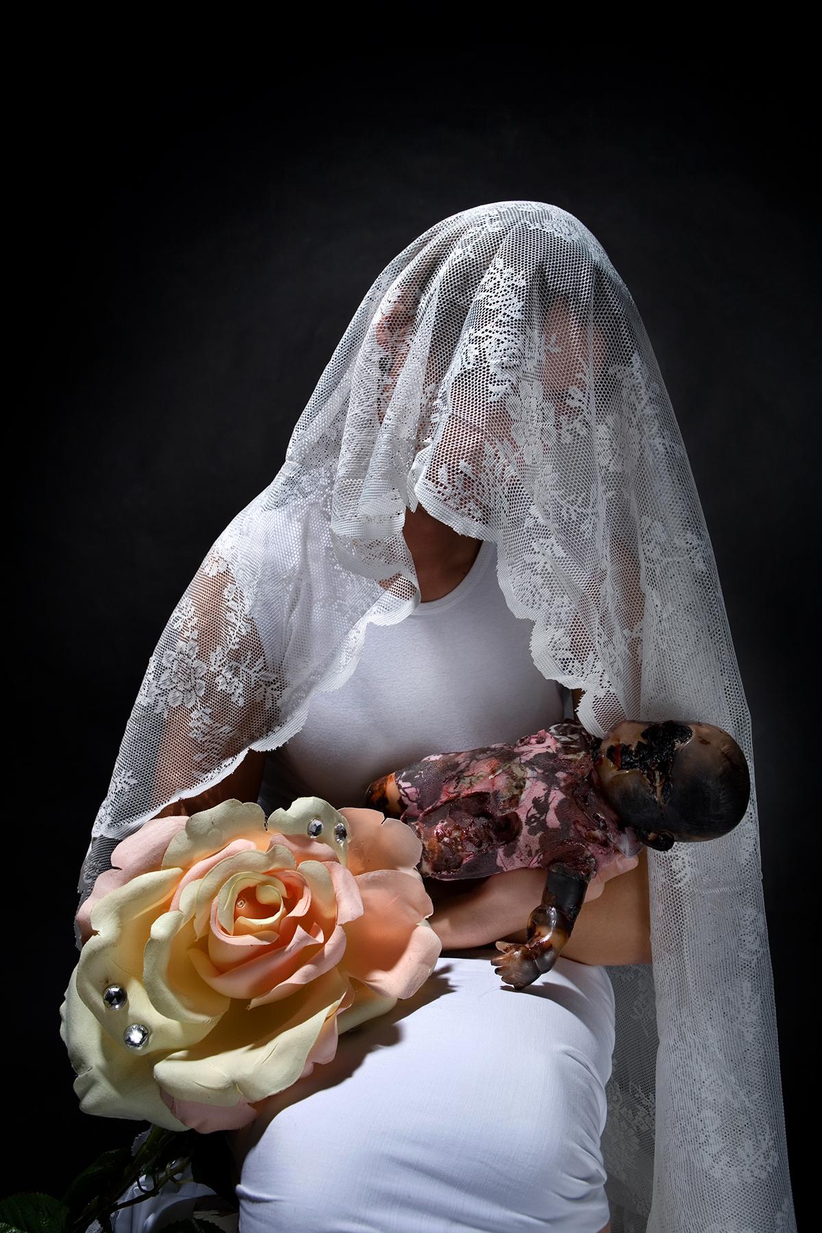 στο στούντιο του φωτογράφου γάμου