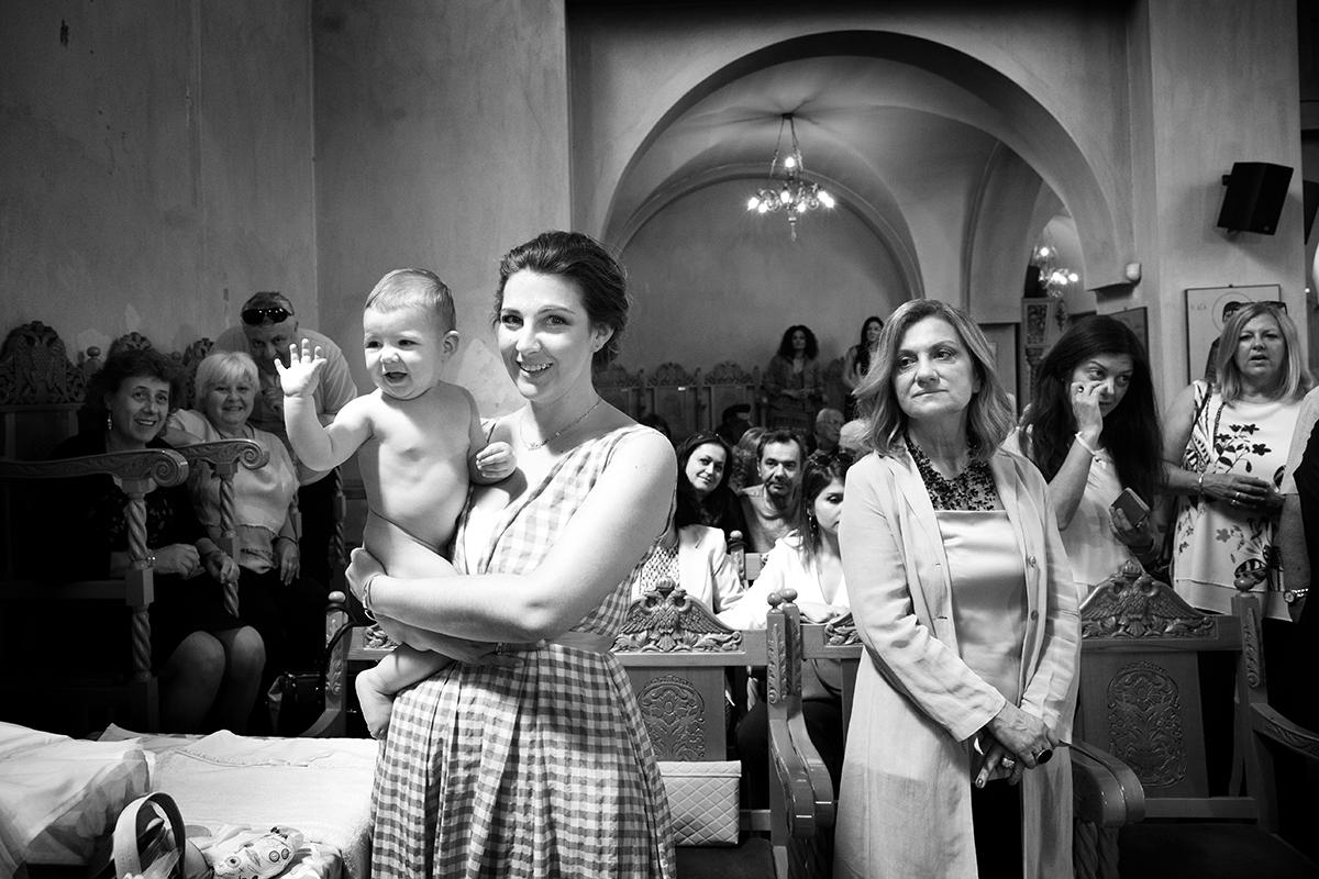 φωτογράφηση βάπτισης στο Πανόραμα Θεσσαλονίκης