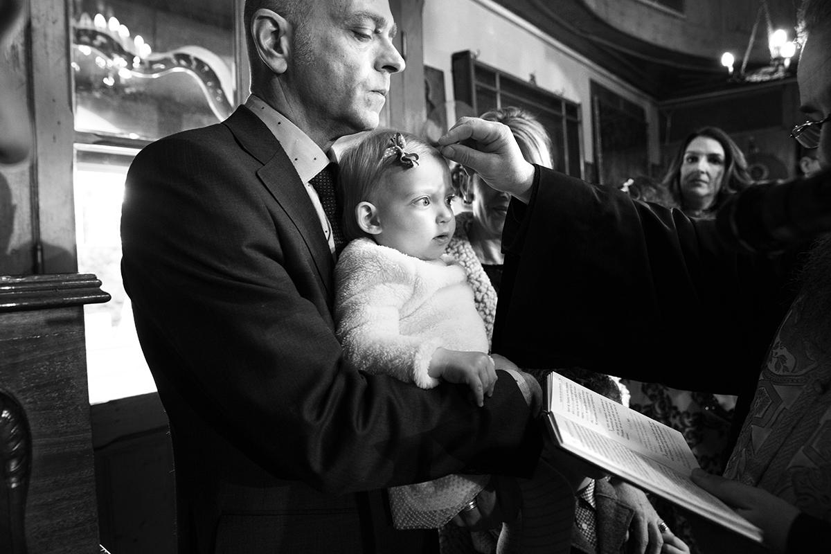 φωτογράφηση βάπτισης