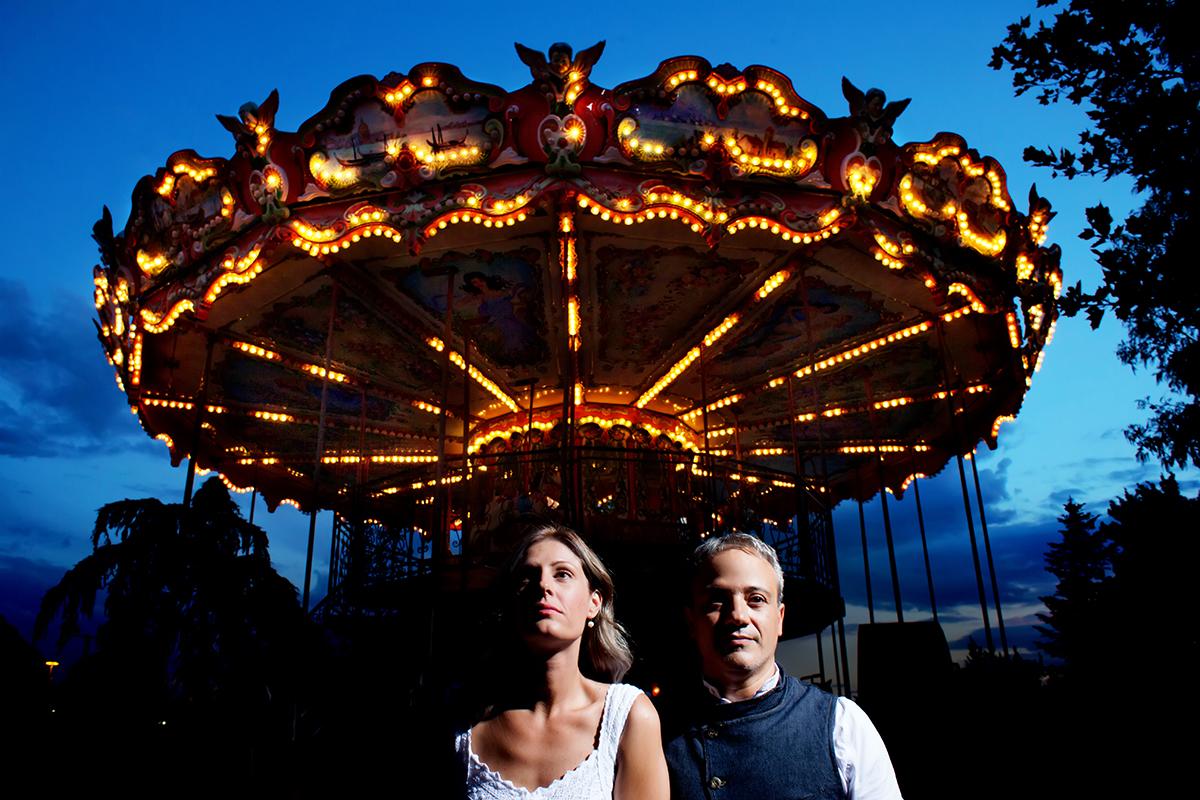 Η ξεχωριστή φωτογράφηση γάμου του Νικου και της Μαριας.φωτογράφιση γάμου στο λούνα παρκ της Θεσσαλονίκης