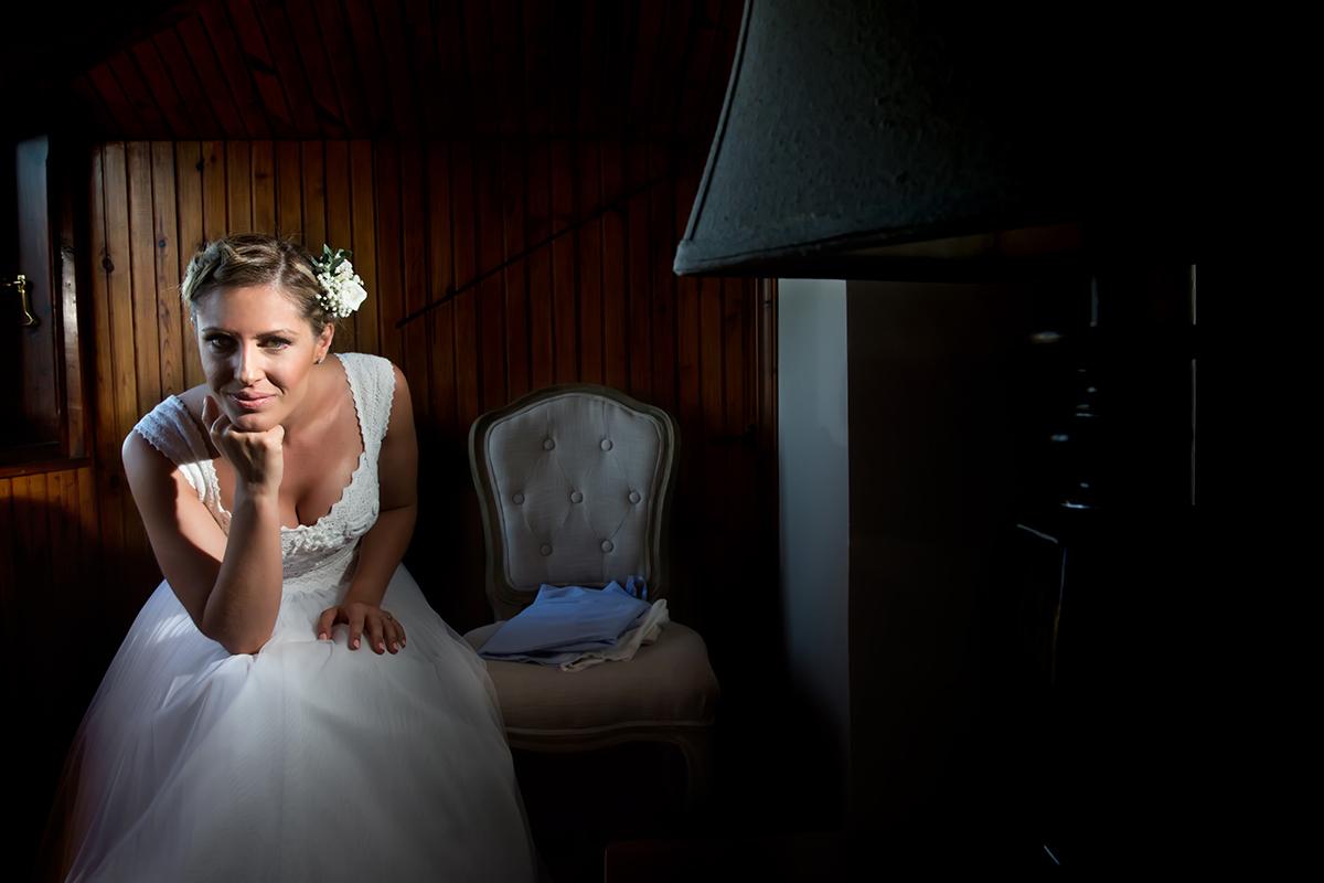 Η ξεχωριστή φωτογράφηση γάμου του Νικου και της Μαριας.πορτραίτο της νύφης.ς