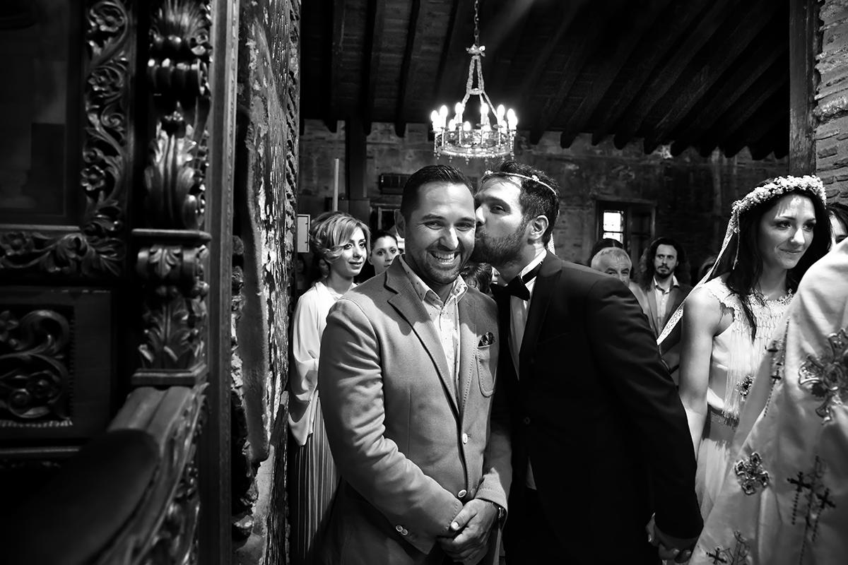 φωτογραφία γάμου.Ο γάμος της Ροζμαρί και του Μάκη